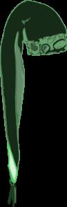 Green Stocking Cap